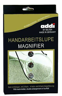 Addi Magnifying Glass & Neck Strap for Crafting
