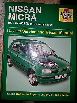 Nissan Micra 1993-2002 Haynes Manual Ideal Present or Gift
