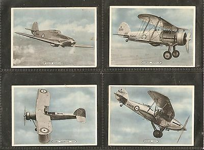 Ardath Tob. Co. Ltd- Fighting & Civil Aircraft (1936) Full Set of 25 Cards
