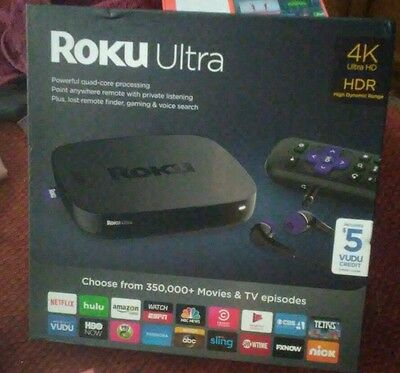 Roku Ultra 4K HDR NEW MODEL 4640RW
