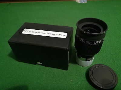 "1.25"" 20mm 58 Degree BST Wide Angle Eyepiece"