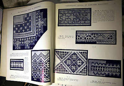 BOUND VOLUME of EARLIEST Fancy Needwork Illustrated Magazines UP TO 1909 @vgc@