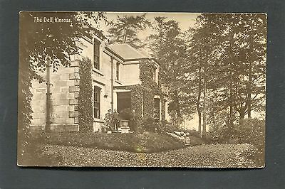 Kinross nr Milnathort Perthshire - The Dell Country House RP c1920