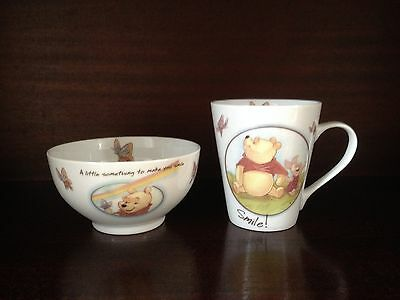 Collectors Plate/bowl/cup - Whinnie The Pooh And Piglet - Disney