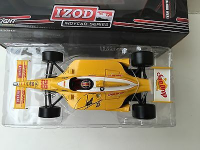 Ryan Hunter-Reay, Hand Signed, 2011 Sun Drop  1/18 Scale Diecast By Greenlight