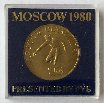 Special Edition Commemorative Medal, PYE MOSCOW OLYMPICS 80.