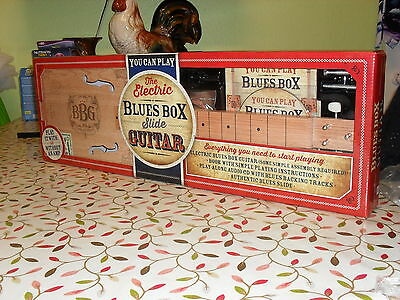 Build Your Own Electric Blues Box Slide Guitar, Cigar Box Guitar