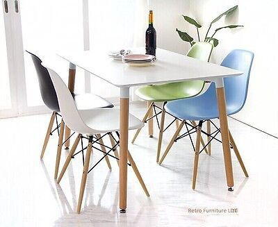 Dining table and 4 chairs retro  DSW Eiffel....-