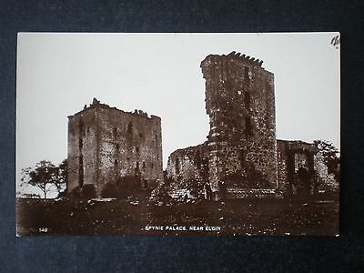 Elgin Spynie Palace Moray Scotland RP postcard