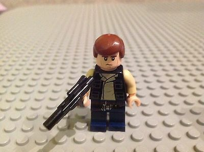 Lego Star Wars Minifigure Han Solo Free Postage Offer