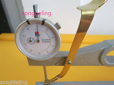 High quality cello thickness measure tools dial indicator, cello making tools