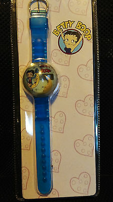 betty boop bubble watch blue new and sealed