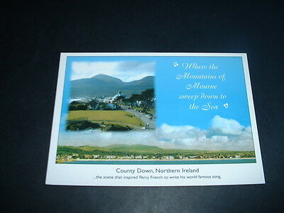 NORTHERN IRELAND THE MOURNE MOUNTAINS Co DOWN  POSTCARD NEW