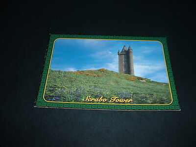 NORTHERN IRELAND SCRABO TOWER Co DOWN  POSTCARD NOT POSTED
