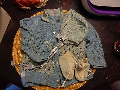 Vintage Baby Outfit 3 Piece