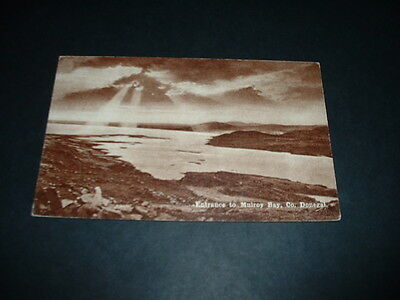 IRELAND  ENTRANCE TO MULROY BAY Co  DONEGAL  RP POSTCARD  1920s