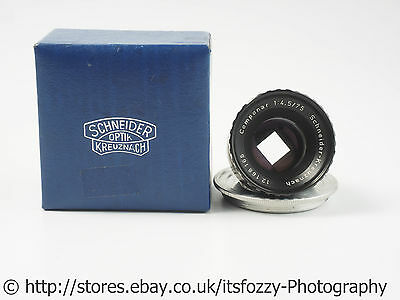 Schneider Componar 75mm f/4.5 Four Blade Aperture Enlarger lens Square Bokeh
