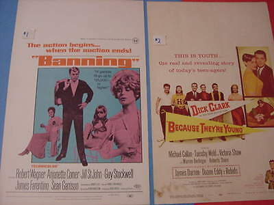 1950's - 60's, ORIGINAL, 14x22, MOVIE, WINDOW CARDS, SEE INFO FOR YOUR CHOICE