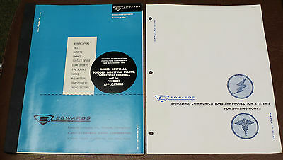 EDWARDS SIGNALING SYSTEMS Commercial CATALOG & BROCHURE 1964 BUZZERS BELLS CHIME