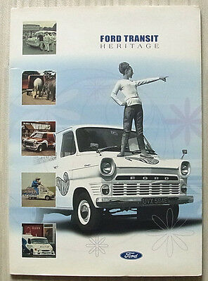 FORD TRANSIT HERITAGE Press Pack Photos 2000