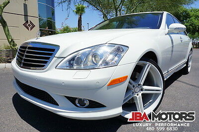 2009 Mercedes-Benz S-Class 09 S550 4Matic AWD AMG Sport Package ONLY 27k Mile 2009 S Class 550 Sedan Clean CarFax ONLY 27k Miles like 2007 2008 2010 2011 2012
