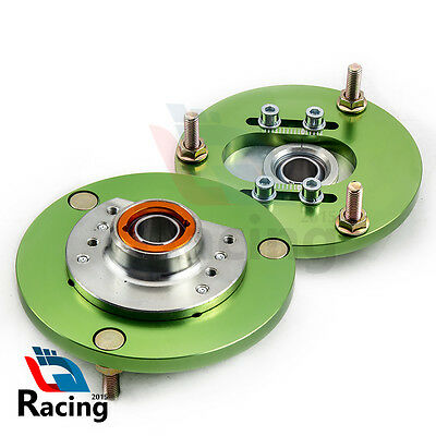 Performance Camber Plate fit BMW E46 98-05 320 323 325 328 M3 Top Mount Green