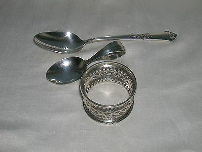 Mixed Lot of Sterling Silver Lunt , Webster, State House Stately Spoon