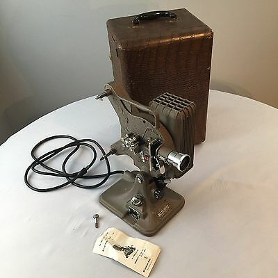 Vintage Keystone Continental A-82 16mm Projector with Hard Case