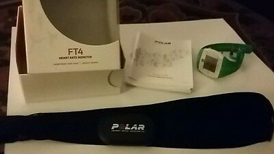 Polar FT4   Watch  and  Heart Rate Monitor