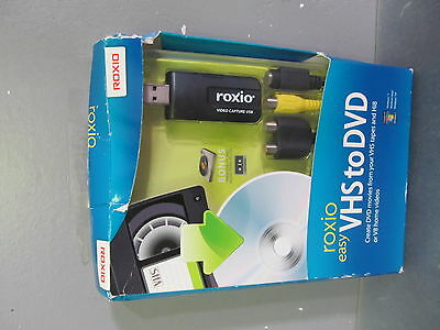NEW Roxio Easy VHS to DVD - Create DVD movies from VHS, Hi8, V8 home videos