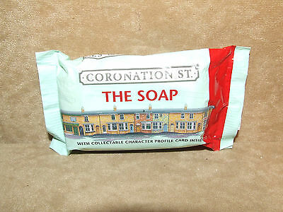 Coronation Street Official Souvenir Soap Bar Collectible With Character Card1999