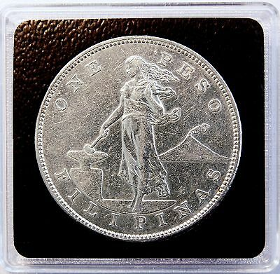 1904 S 1 Peso US-Philippines Silver Dollar Crown Coin GREAT DETAIL  LV#609