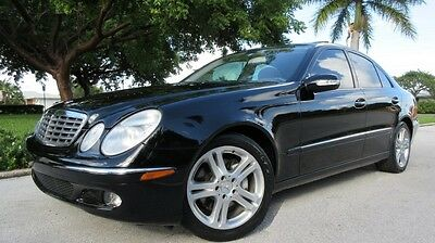 2006 Mercedes-Benz E-Class 4d 2006 MERCEDES E350,  SUNROOF, CD, LEATHER, LOW MILE FL CAR, JUST SERVICED, NICE!