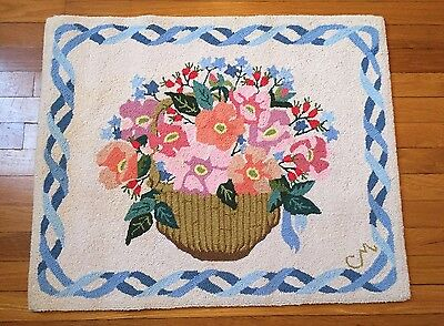 Claire Murray 100% Wool Hand Hooked Rug