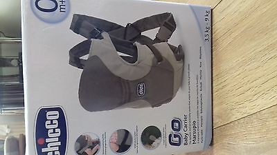 chicco baby carrier with box excellent condition