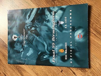 1999 European Cup Winners Cup Final Real Mallorca v Lazio MINT Condition