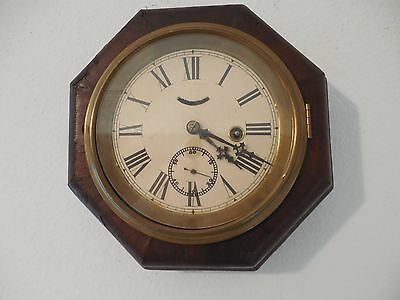 Antique 30 Hour  Lever (Maritime) Wall Clock