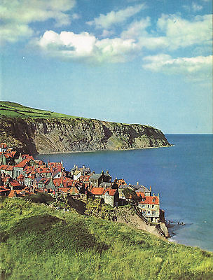 Robin Hood's Bay, Yorkshire 1950s Vintage Colour Print #544747
