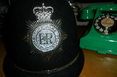 OBSOLETE SOUTH YORKSHIRE POLICE HELMET 1980's