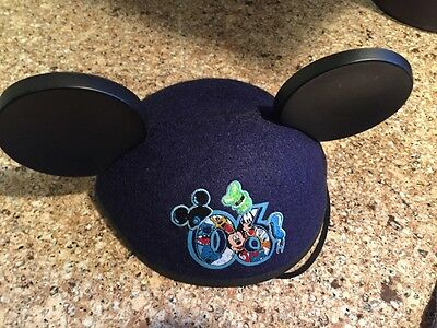 Disney Parks Lilo And Stitch Mickey Ear Hat Christmas Ornament Limited Edition
