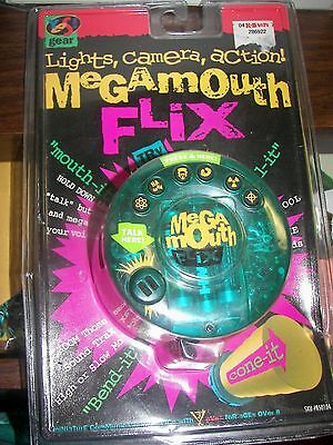 YES! Gear Megamouth Flix SEALED 1996 Brand new!! Factory Sealed!! FREE SHIPPING!