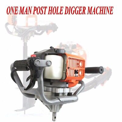 52cc Gas Power Earth Post Hole Planting Auger Digger Machine w/ EPA
