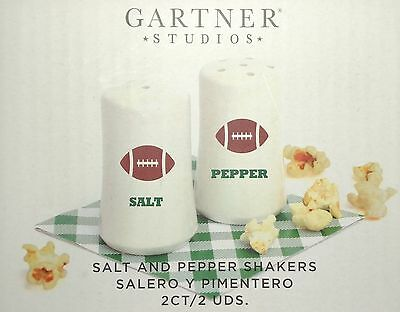 Football Man Cave Salt and Papper Shakers
