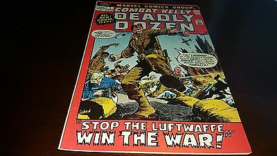 Combat Kelly And The Deadly Dozen #1..1972...vf-