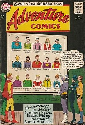 Adventure Comics #311 (1963) starring Superboy and the Legion of Super Heroes!