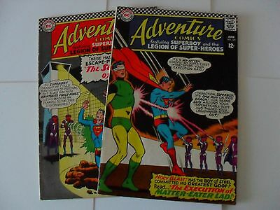 Adventure Comics #s 344 and 345 (1966) - complete two part story with Superboy
