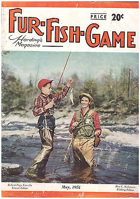 Fur, Fish and Game magazine May 1951 issue