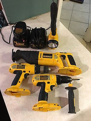 Dewalt Cordless Lot Reciprocating Saws DW938 + Drills + Charger Working Or Parts