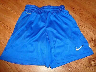 Boys Girls Royal Blue White  Nike Soccer Shorts Size Youth Small
