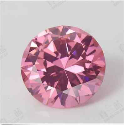 TOP PINK SAPPHIRE 2.35ct EXQUISITE UNHEATED 7MM  ROUND CUT AAAA+ LOOSE GEMSTONE